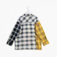 ALLKPOPER KPOP  Plaid Shirt Women Bangtan Boys SUGA Blouse Korea Fashion