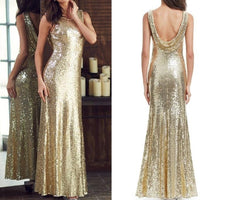 Long Sparkle Prom Dresses Ever Pretty 2019 New V-Back Women Elegant