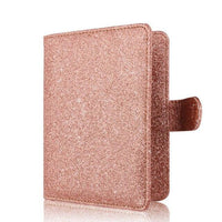 New Hasp Shiny Passport Holder Wallet RFID Blocking Case for Passport Travel Cover Case