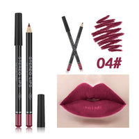 New Matte Lipstick Pencil Lip Liner Waterproof Makeup Lip Tint Sexy Batom Mate Long Lasting Moisturizer Lipliner Cosmetic TSLM2