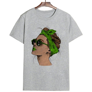 Summer 2019 Harajuku Fashion Cool Print Female T Shirt Leisure Streetwear Aesthetic TShirt Trend Thin Section Comfortable Shirt