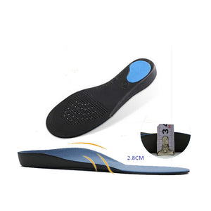 Flat Feet arch support insoles orthopedic height 3cm High Quality 3D Premium