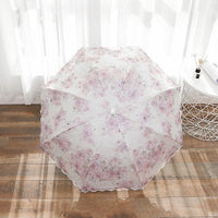 Kocotree 2019 New Arrival Lace Rain Sun Umbrella Women Fashion Arched Princess Umbrellas Female Parasol Creative Gift Parasol