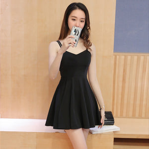 Little black dress temperament korean version of the spring and autumn