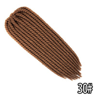 Qp Hair 12 Strands Mambo Twist NO CORNROWS CROCHET BRAIDS synthetic Hair high tempe‎ratur‎e fiber braid  Crochet Hair extension