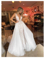 LORIE Sexy Wedding Dress Long Train Robe de soiree Sweet Dream Bridal