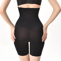 SH-0006 Women High Waist Shaping Panties Breathable Body Shaper Slimming Shapers Tummy Underwear panty butt lifter waist trainer