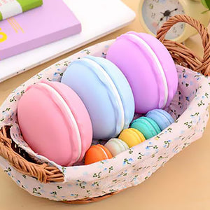 1pcs Beautiful Candy Color Macaron Mini Storage Box Portable Jewelry Boxes Ring necklace earrings Packaging  Display Cases