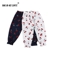 Newborn Baby Clothing Full Length Pants Boys Girls Cotton Cartoon Printed Pant  Loose Comfortable Clothes Toddler Infant Pants