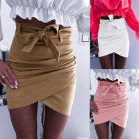 New Arrival Women's Skirt High Waist Bodycon Slim Casual Summer Pencil Mini Skirt Women Clothes