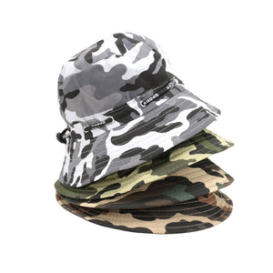 Men Women Camouflage Bucket Hat Outdoor Hunting Camping Boonie Fishing Hat