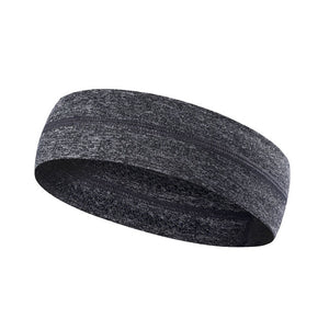 New Elastic Absorbent Sport Sweat Headband Sweatband For Men and women Yoga Hair Bands Head Sweat Bands Sports Safety