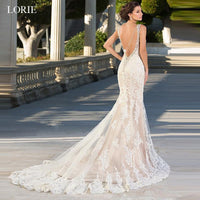 LORIE Mermaid Wedding Dresses Sweetheart Neck Backless Lace Bride dress