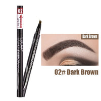 1Pcs Women Makeup Sketch Liquid Eyebrow Pencil  Waterproof Brown Eye Brow Tattoo Dye Tint Pen Liner Long Lasting Eyebrow