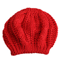 Warm Winter Women Beret Knitted Baggy Beanie Hat Multicolor Ski Cap  AIC88