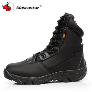 Motorcycle Boots Men Moto Motocross Riding Boots Military Boots Quality Special