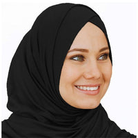 2019 Jersey head scarf instant hijab ready to wear Muslim Hijabs for women Islamic