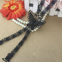 Bra Straps Lace Butterfly Flower Cross Back Lady Girl Bra Straps Decoration Shoulder Straps Necessary