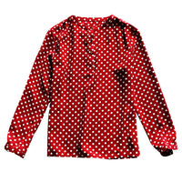 Shuchan 2019 Tops Spring and Summer New Classic Polka Dot Women Shirt