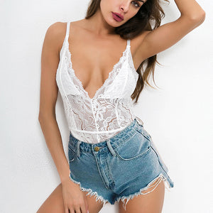 Body Dungarees Floral Shorts Bodysuit Combishort Clothes Summer Jumpsuit Streetwear Overalls Lace or Women Tops 2018 Playsuits