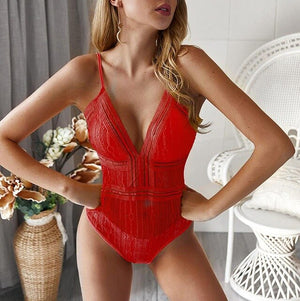 Sexy Lace Sleeveless Bodysuit Womens Rompers Spaghetti Strap Off Shoulder Short Jumpsuit Summer Mesh Tops Clubwear Combishort C1