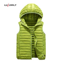 Fashion Plus Size Outerwear Removable Hooded Waistcoat Casual Warm Jacket