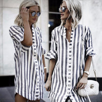 Women Blouse 2018 Fashion Women's Loose Half Sleeve Cotton Casual Blouse Shirt Tunic Tops Blouse