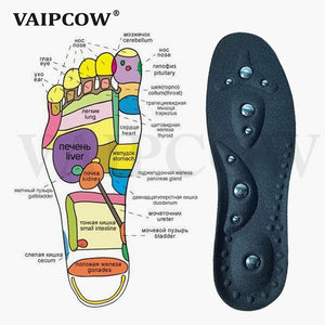 VAIPCOW High quality Magnetic Therapy Magnet Massage Insoles