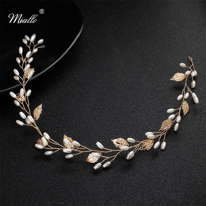 Headband Crown Wedding Hair Vine Jewelry Accessories Headpieces