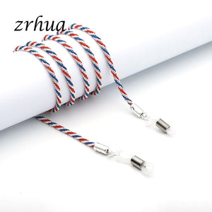 ZRHUA 60cm Spectacle Glasses Sunglasses Stretchy Strap Belt Cord Holder Sunglasses Eyeglass Neck Band Cord Top Sale for Women