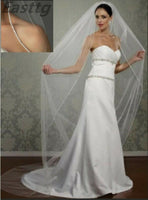 Champagne White Ivory Wedding Accessory 3M Cathedral Crystal Edge