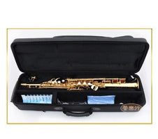 New arrival Straight Professional level Soprano Saxophone S-992 Bb Musical instrument Sax With case
