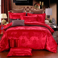 New Bedding Set  Duvet Cover Bed Linen Comforter, Red Quilt Cover High Quality 2020
