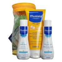 Spf 50 Factor 200 ml Sunscreen Set + 100 ml Baby Lotion and 100 ml Sensitive Cleansing Gel
