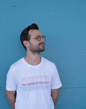 The Ally Shirt (White) - The Gaysian Project