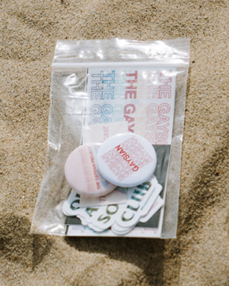 Sticker + Button Grab Bag - The Gaysian Project