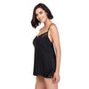 V Neck Soft Fabric Elegant Camisole Chemise Set