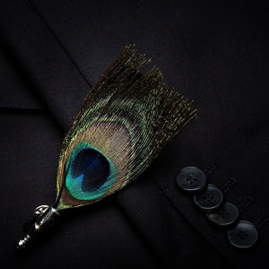 The Classic Peacock - Jack and Miles Bow Tie