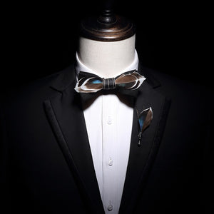 The Gatsby- Black - Jack and Miles Bow Tie