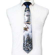 Load image into Gallery viewer, Winter Wonderland - Jack and Miles Bow Tie
