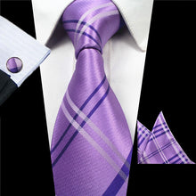 Load image into Gallery viewer, Tie Box Collection- Lavender Plaid - Jack and Miles Bow Tie