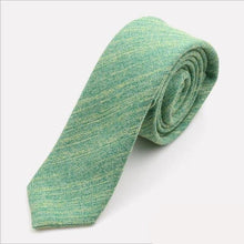 Load image into Gallery viewer, Luck o Irish Linen - Jack and Miles Bow Tie