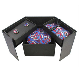 Tie Box Collection-Classic Rock Paisley - Jack and Miles Bow Tie