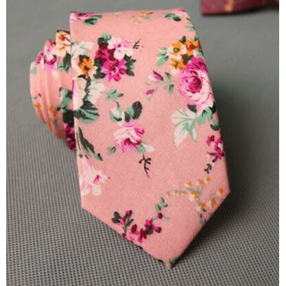 Pretty in Pink - Jack and Miles Bow Tie