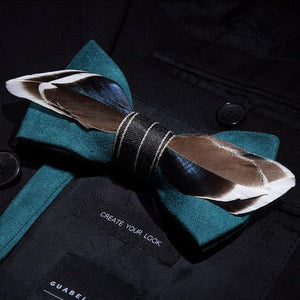 The Gatsby- Teal - Jack and Miles Bow Tie