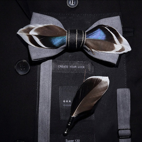 The Gatsby-Gray - Jack and Miles Bow Tie