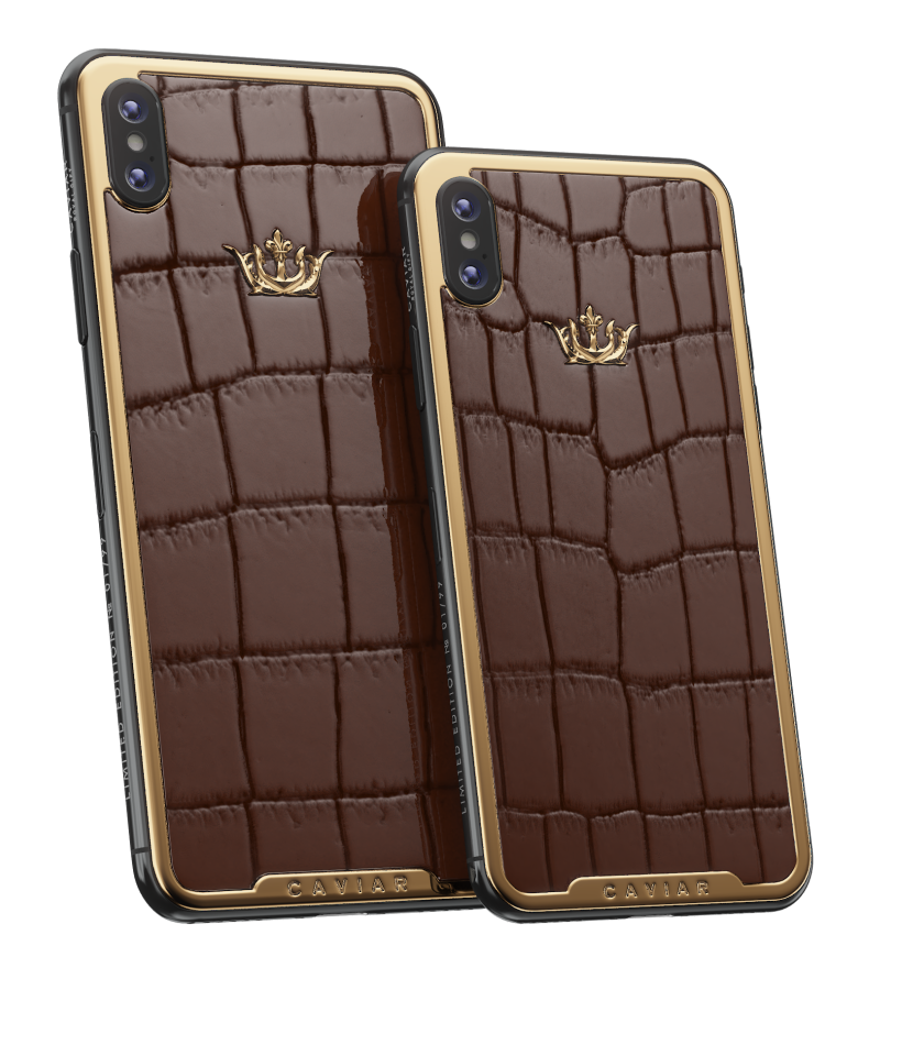 IPHONE XS-EDITION ALLIGATOR BROWN