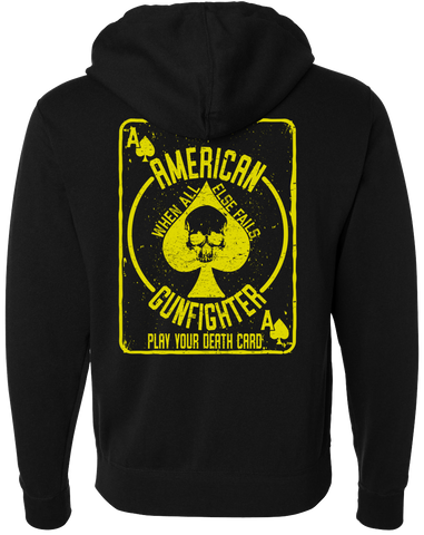 American Gunfighter™ Death Card Hoodie