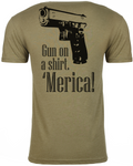 Gun On A Shirt