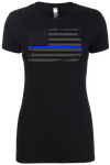 Thin Blue Line - Womens